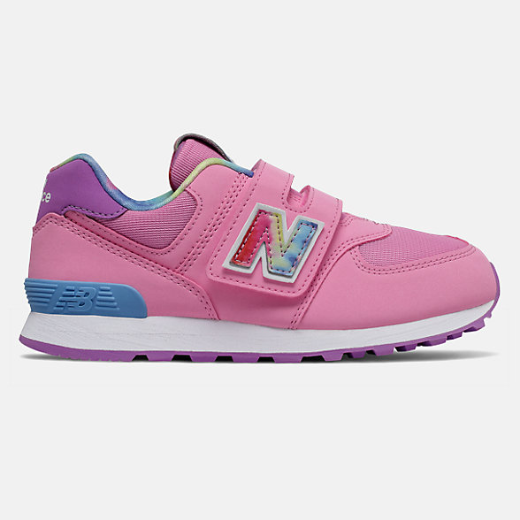 NB Hook and Loop 574 Tie Dye, YV574TDP