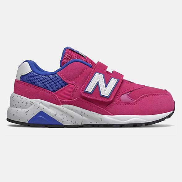 New Balance 580系列儿童复古休闲鞋, YV580TRE