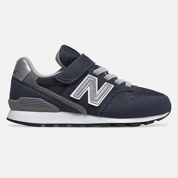 New Balance 996系列兒童休閑運動鞋, YV996CNV