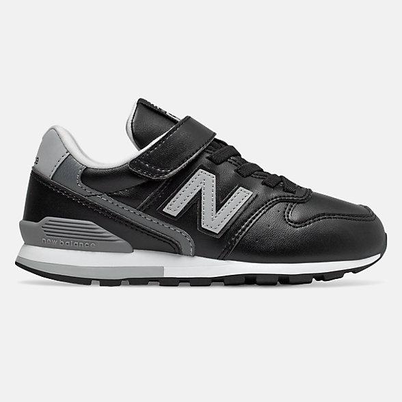 New Balance 996系列儿童休闲运动鞋, YV996LBK